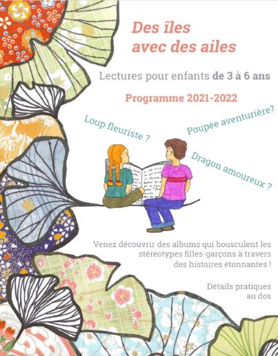 Des iles avec des ailes : programme 2021-2022