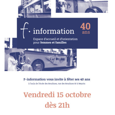 40 ans F-information