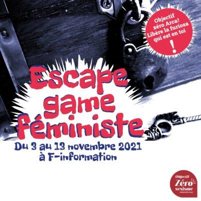 Escape game féministe @ F-information